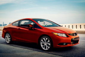 Honda Civic Coupe Si 2012 neuf