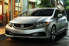 Honda Civic Berline DX 2013 neuf